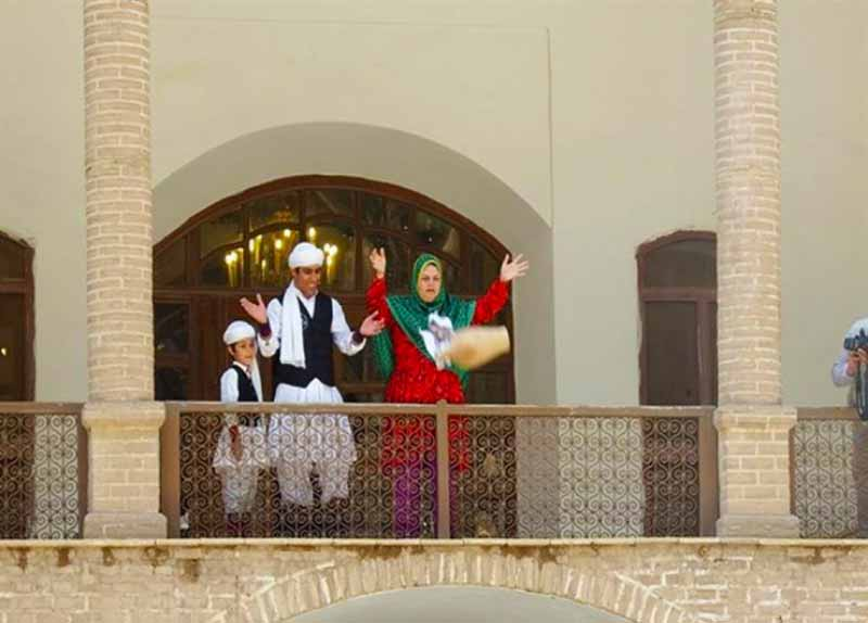 a Persian Tradition called Kuzeh Shekani-a family throwing a jar out of the house to drive away bad luck