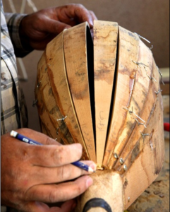 Proceso de fabricación de un gupuz
