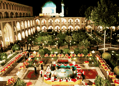 Built around 300 years ago, under the Safavid dynasty reign of Shah Sultan Hossein, Isfahan's Abbasi Hotel was originally used as a caravanserai for merchants traveling the ancient Silk Road.