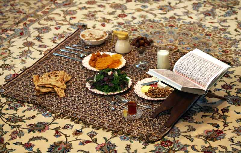 Sahari, a meal before sunrise