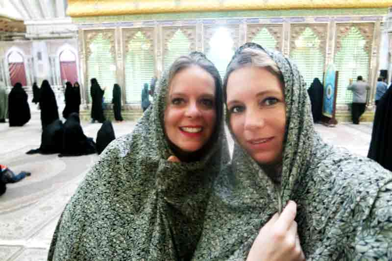 Dress code for women in holy places