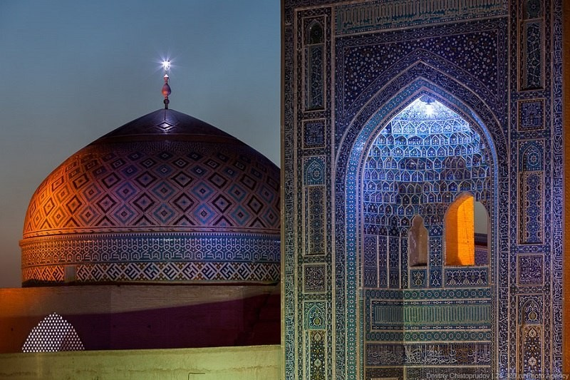 Jame Mosque in Yazd _ Iran