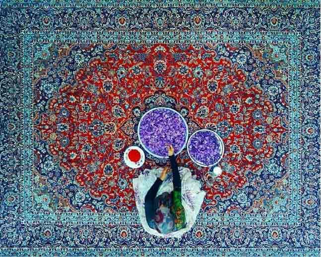 la alfomrba persa