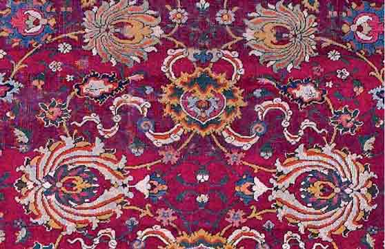 la alfombra persa