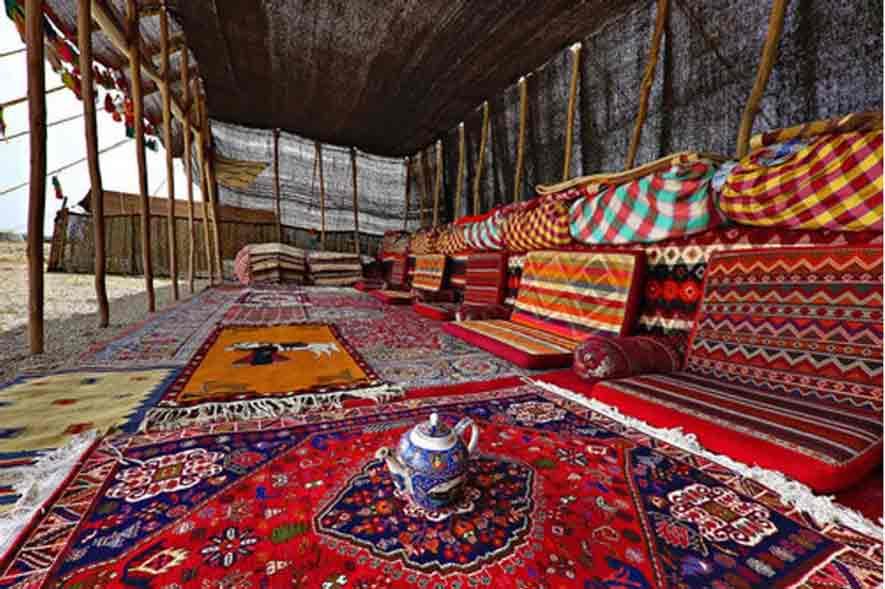 la alfombra de nomadas