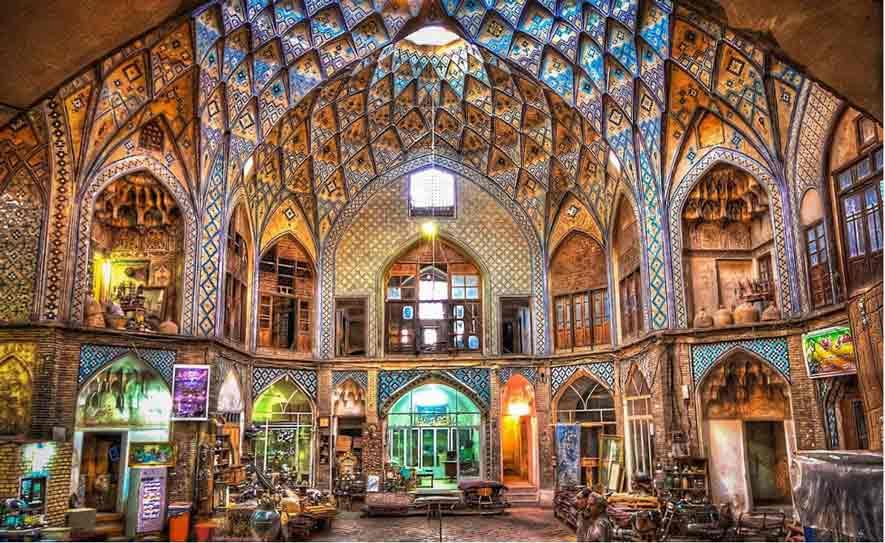 Bazar de Kashán
